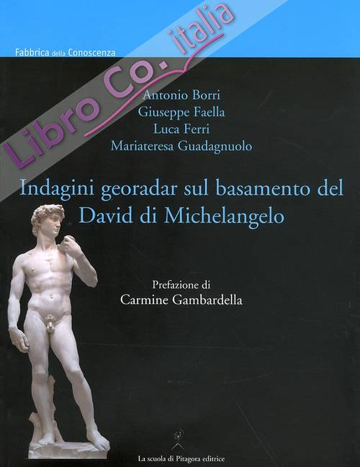 Indagini georadar sul basamento del David di Michelangelo