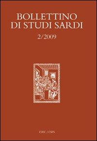 Bollettino di studi sardi (2009). Vol. 2