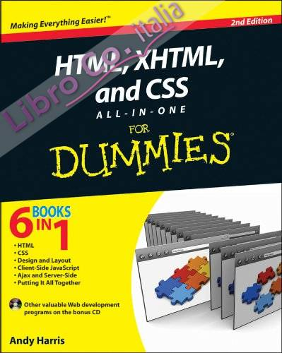 HTML, XHTML and CSS All-in-One for Dummies