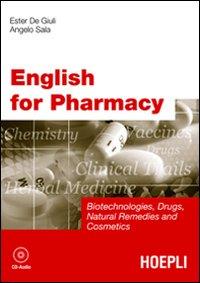 English for Pharmacy. Con CD Audio.