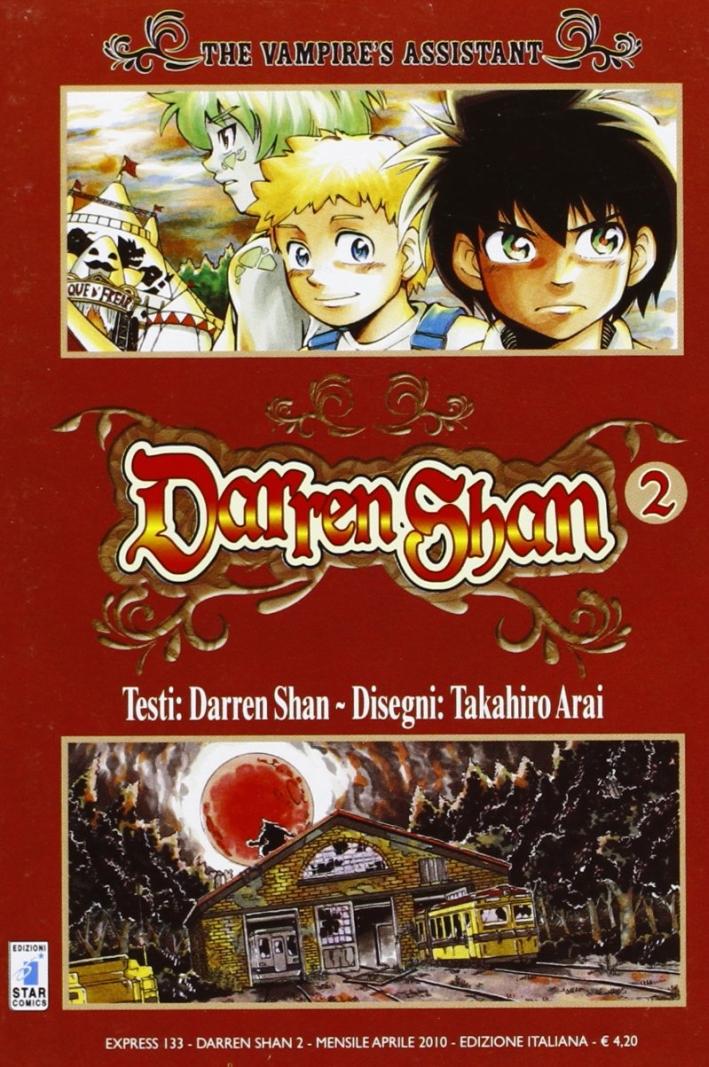 Darren Shan. Vol. 2: The vampire's assistant