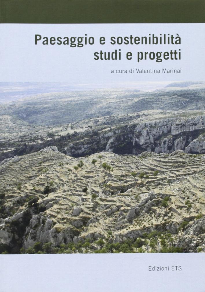 Paesaggio e sostenibilità studi e progetti