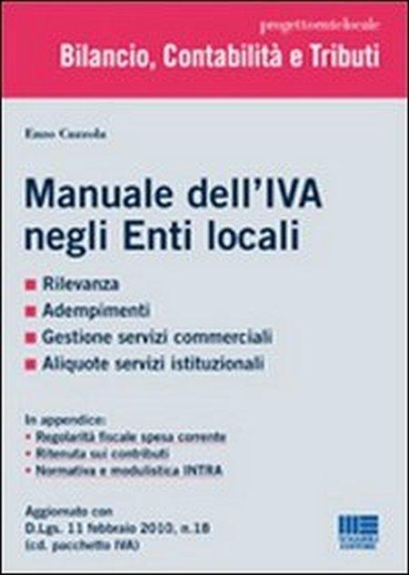Manuale dell'IVA negli Enti locali