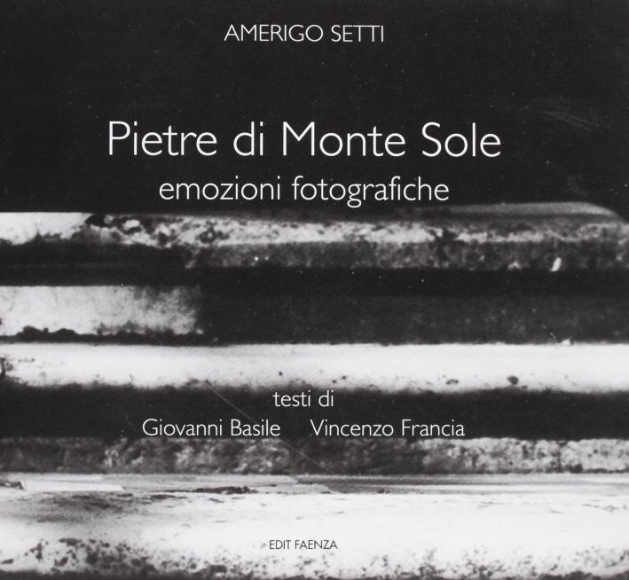 Pietre di Monte Sole. Emozioni fotografiche.