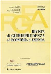 Rivista di giurisprudenza ed economia d'azienda (2009). Vol. 6