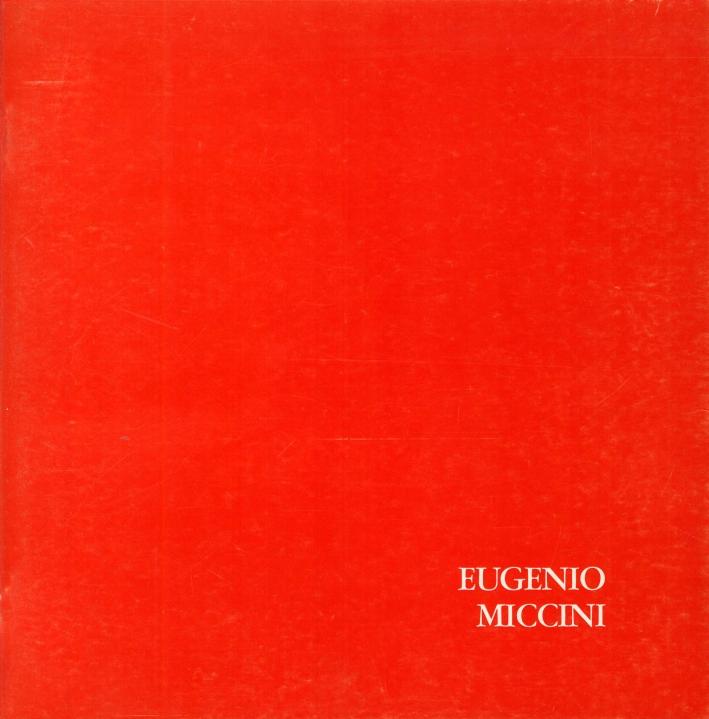 Eugenio Miccini. Poesie visive