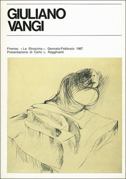 Giuliano Vangi. Firenze, 1967