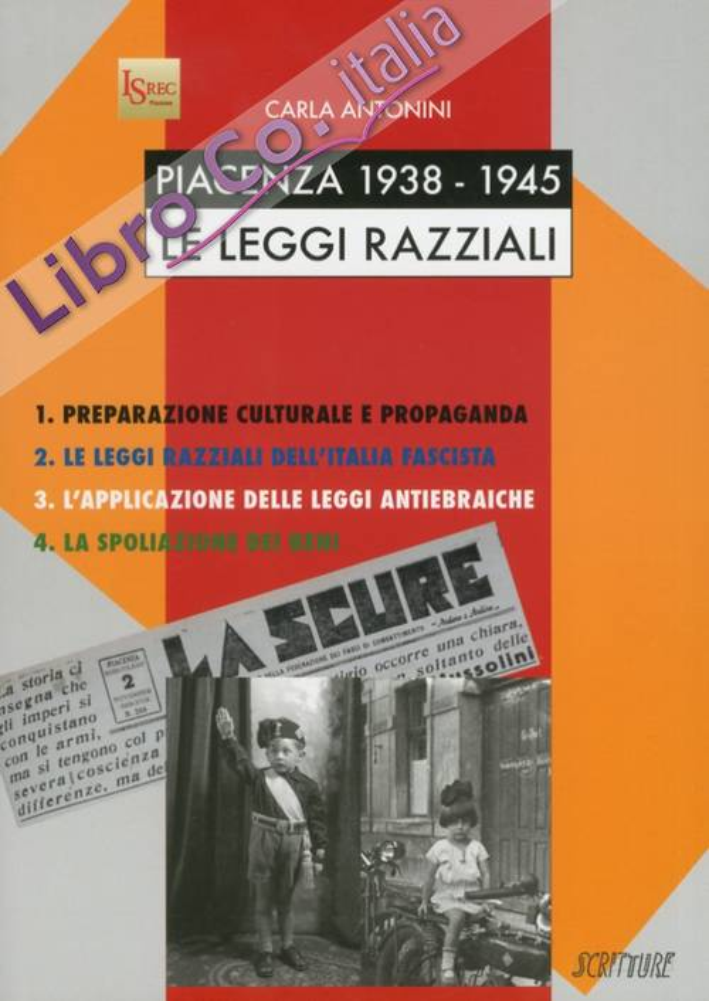 Piacenza 1938-1945. Le leggi razziali
