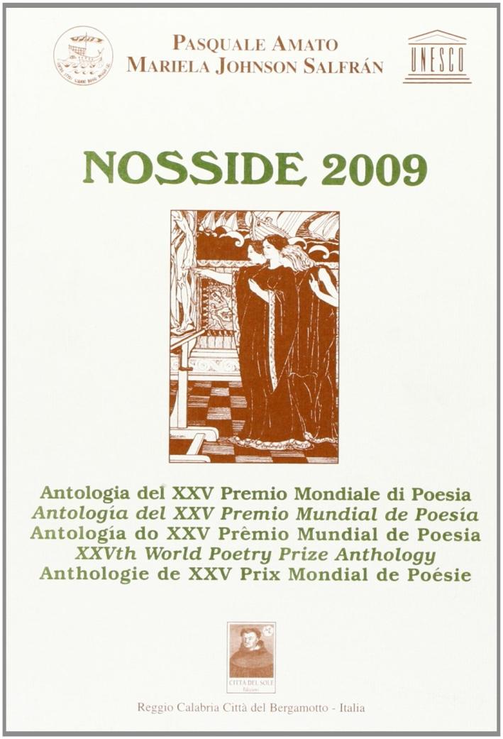 Nosside 2008. Antologia del 25ª Premio di Poesia