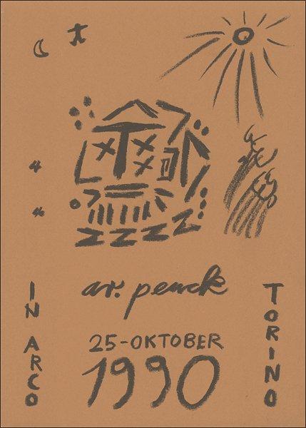 A. R. Penck. Opere recenti
