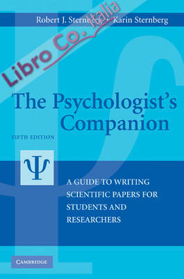 Psychologist's Companion. A Guide to Writing Scientific Papers for Students and Researchers