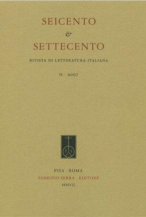 Seicento&Settecento. Rivista di letteratura italiana. 2009. 4