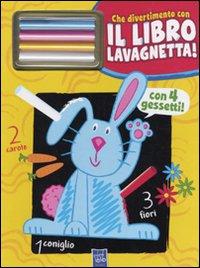 Il coniglio Gildo. Che divertimento con il libro lavagnetta! Con gadget.