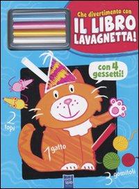 Il gatto Birba. Che divertimento con il libro lavagnetta. Con gadget.