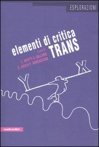 Elementi di critica trans