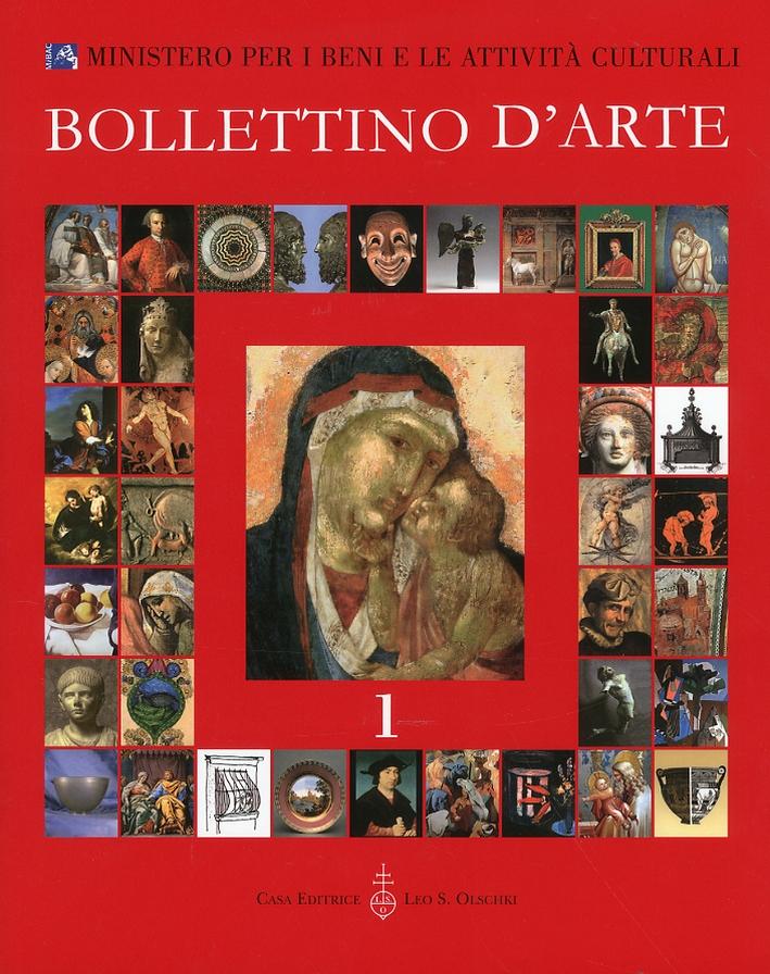 Bollettino d'arte. 1. Anno 2009. Gennaio-marzo. Anno XCIV. Serie VII