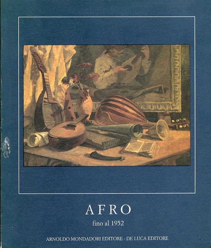 Afro fino al 1952