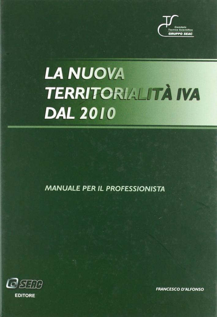 Territorialità nuova iva dal 2010.