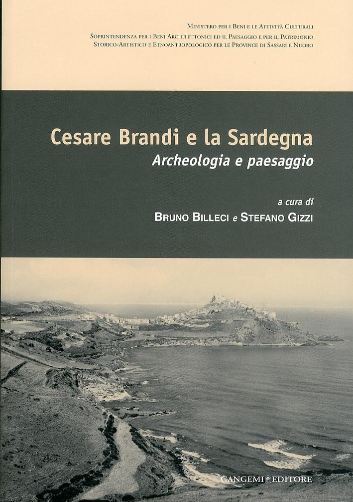 Cesare Brandi e la Sardegna. Archeologia e Paesaggio