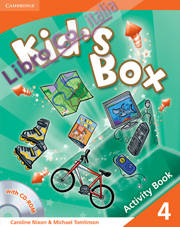 Kid's Box Level 4 Activity Book with CD-ROM.