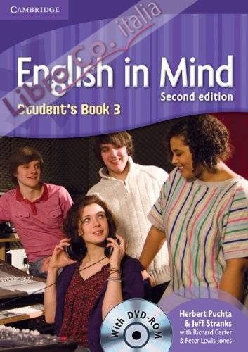 English in Mind Level 3 Student's Book with DVD-ROM.