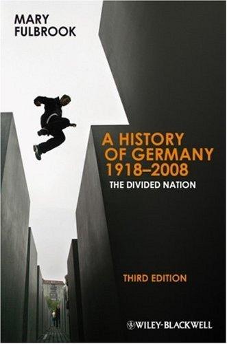 History of Germany 1918-2008.