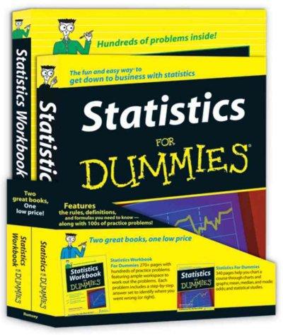 Statistics for Dummies Education Bundle