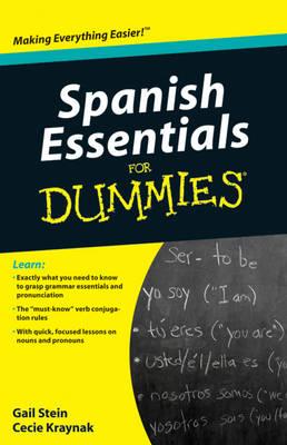 Spanish Essentials For Dummies.