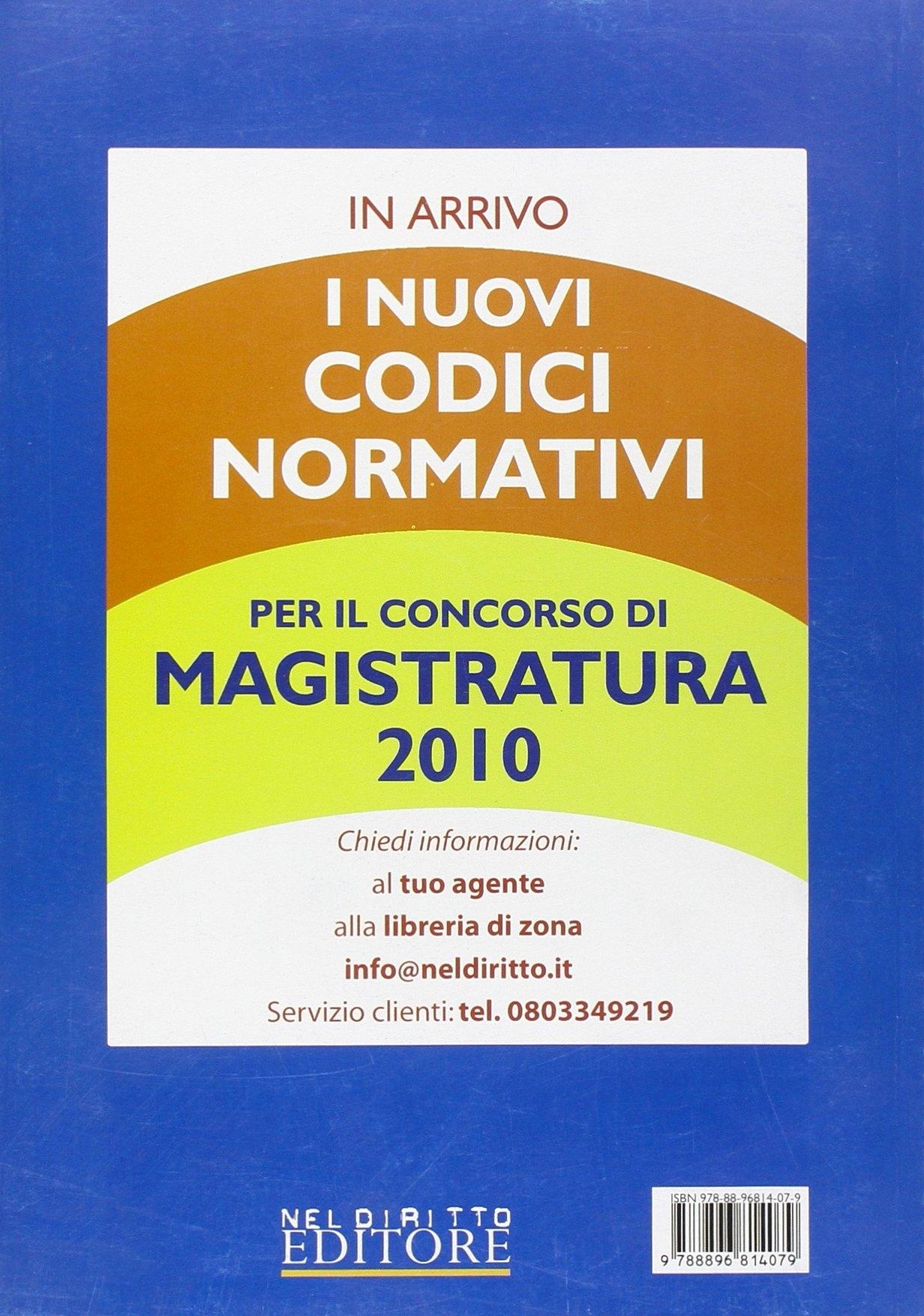 La rivista di Neldiritto (2010). Vol. 4