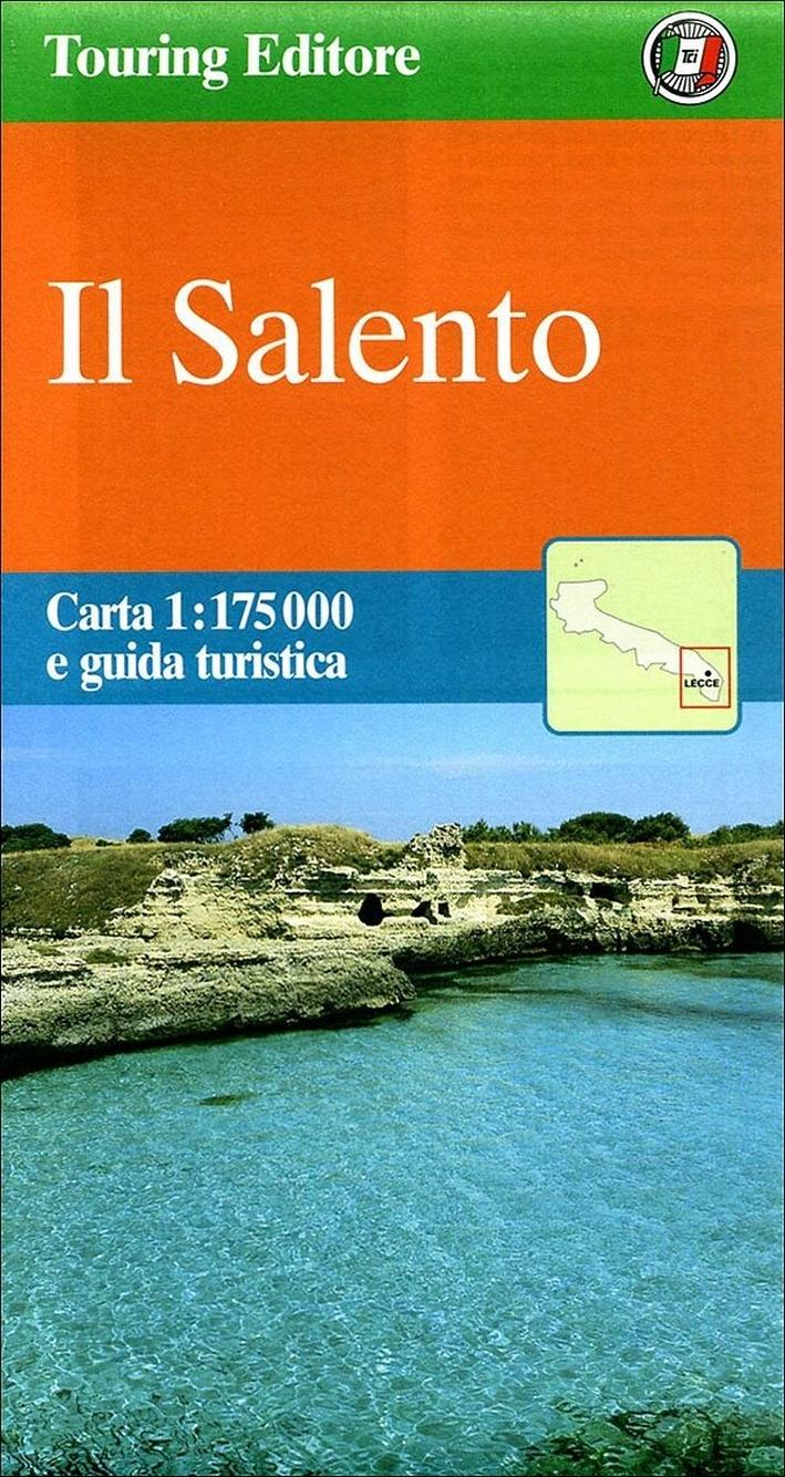 Il Salento 1:175.000. Carta e guida turistica