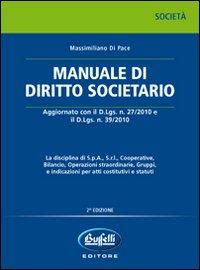 Manuale di diritto societario.