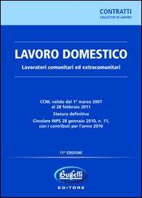 Lavoro domestico. Lavoratori comunitari ed extracomunitari