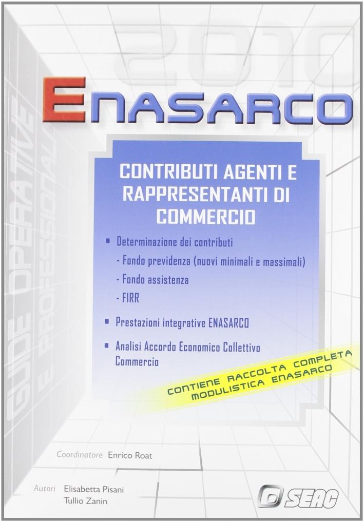 Enasarco. Contributi agenti e rappresentanti di commercio