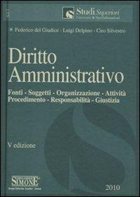 Diritto amministrativo. Fonti, soggetti, organizzazione, attività, procedimento, responsabilità, giustizia.