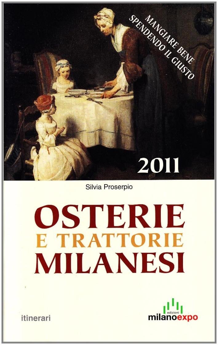 Osterie e trattorie milanesi 2011