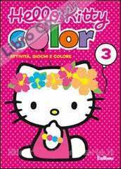 Color 3. Hello Kitty