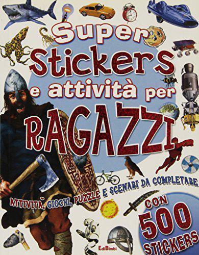 Superstickers e attività per ragazzi