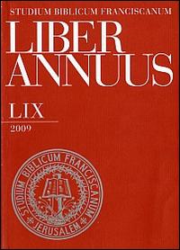 Liber Annuus 2009.