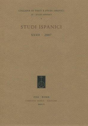 Studi Ispanici. 35. 2010.