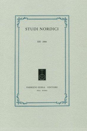 Studi nordici. VIII. 2001