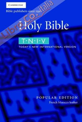 TNIV Bible Popular Edition Burgundy French Morocco Leather