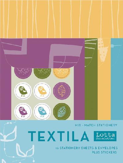 Textila Mix and Match Stationery.