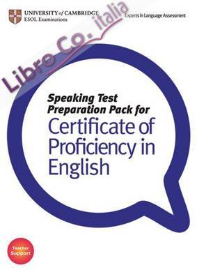 Speaking Test Preparation Pack for CPE.