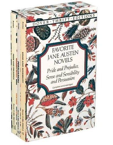 Favorite Jane Austen Novels.