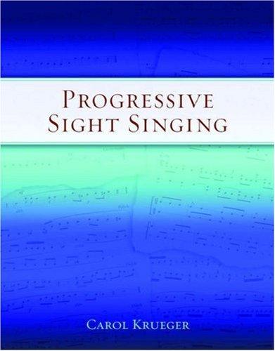 Progressive Sight Singing.