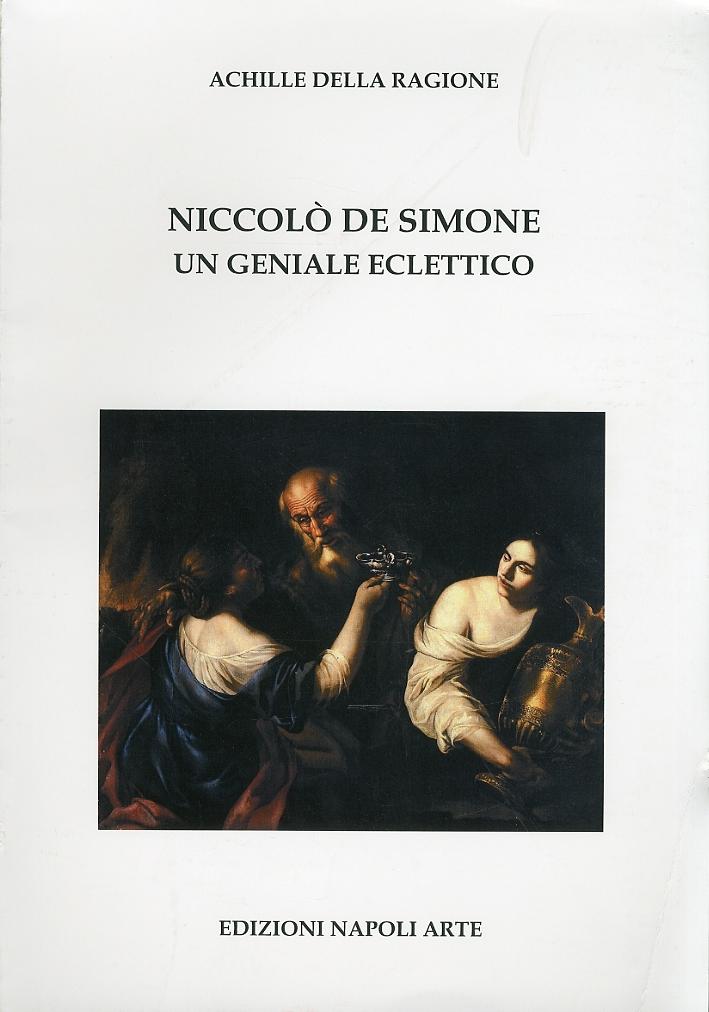 Niccolò de Simone. Un geniale eclettico.