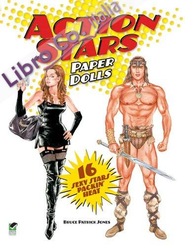 Action Stars Paper Dolls.