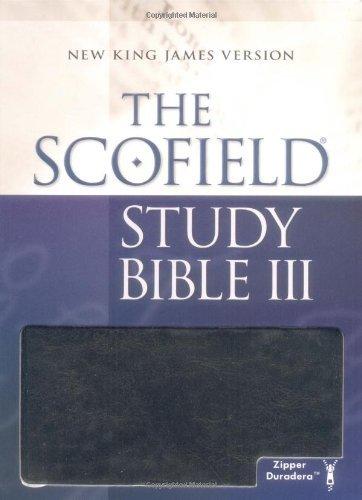 Scofield Study Bible III, NKJV
