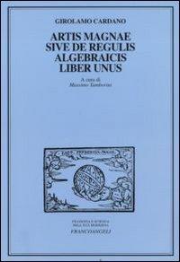 Artis magnae sive de regulis algebraicis, liber unus