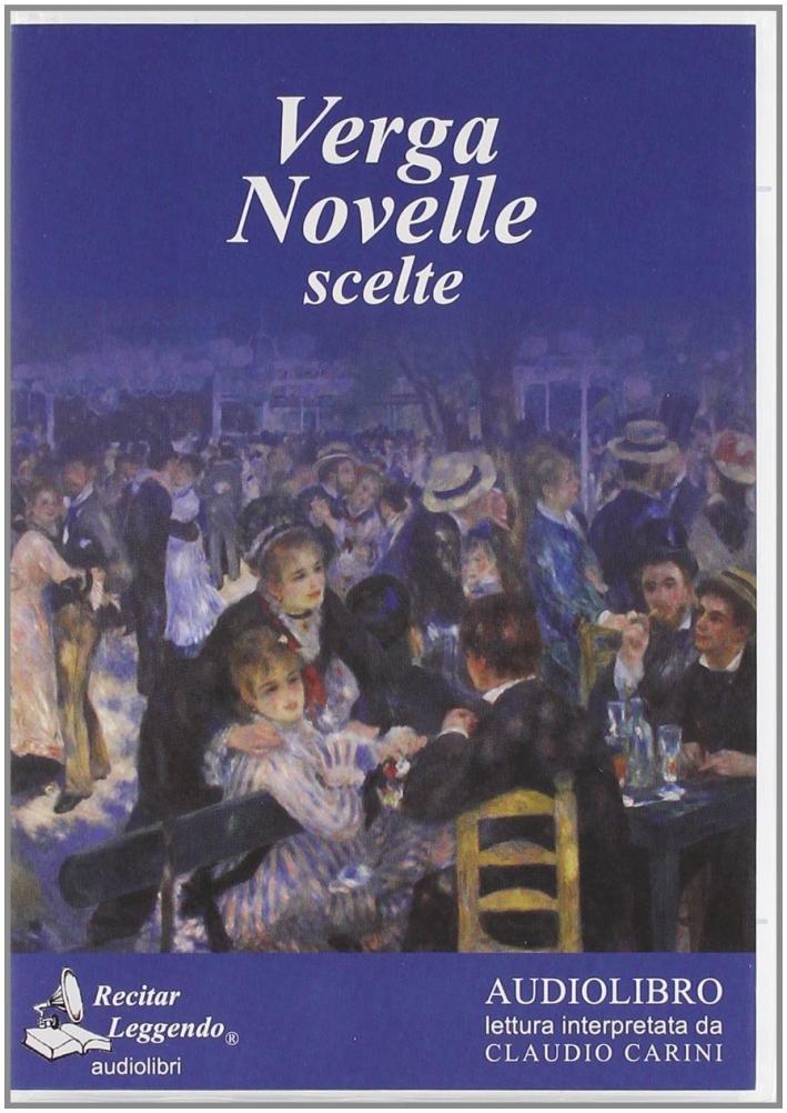Novelle scelte. Audiolibro. CD Audio formato MP3